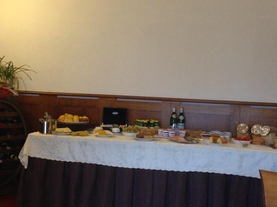 Il Vecchio Mulino: breakfast