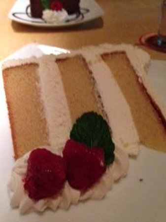 Twisted Fork: chocolate cheesecake
