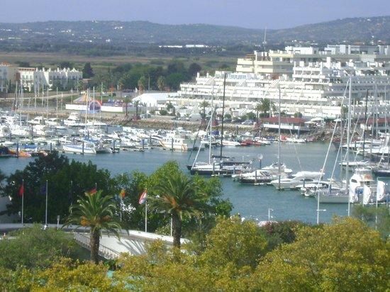 Vila Galé Ampalius: Looking towards marina from corner of balcony