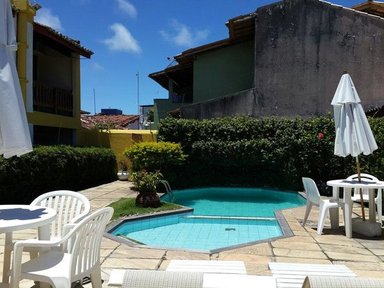Center Porto Hotel: Vista da piscina
