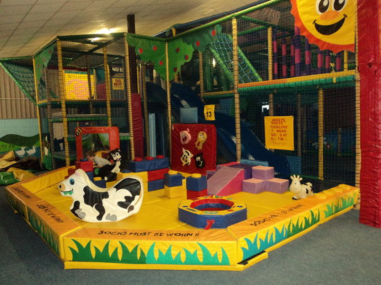 Langton Matravers, UK: Baby area of our indoor soft play