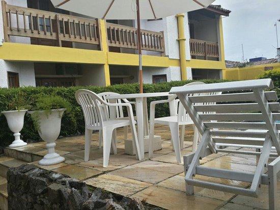Hotel Porto Seguro Centro: Vista da piscina