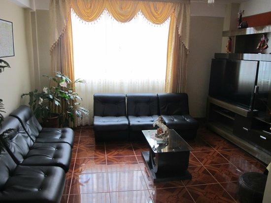Hotel Sonnenthal Cusco: Салон