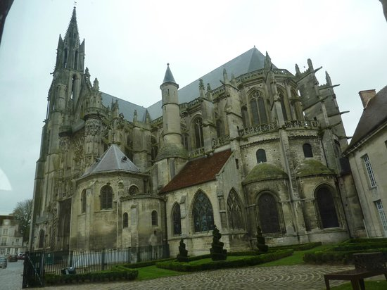Cathédrale Notre-Dame de Laon : extérieur