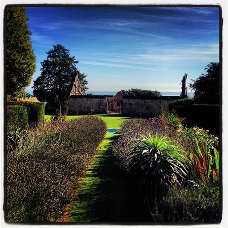 Priory Bay Hotel : View from our Tithe Barn
