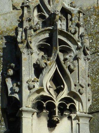 Cathedrale Notre-Dame de Laon: détail extérieur