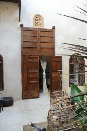 Riad El Maati : Entrance to 1st floor room
