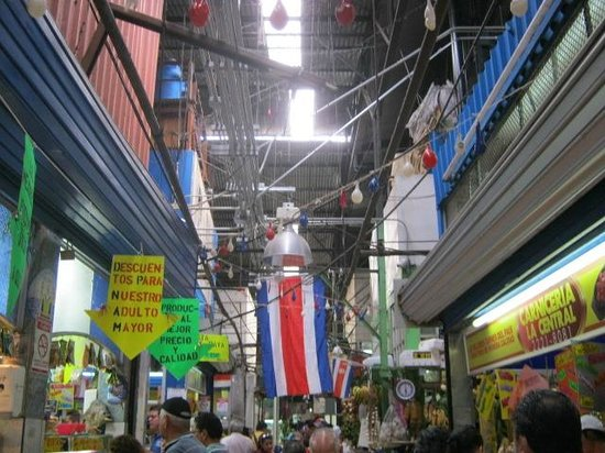 Central Market (Mercado Central): The wiring above your head.