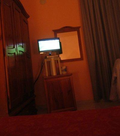 Villa Regina: Per poter vedere la TV da coricati