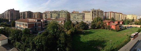 H10 Roma Citta: Blick aus dem Fenster Richtung Westen