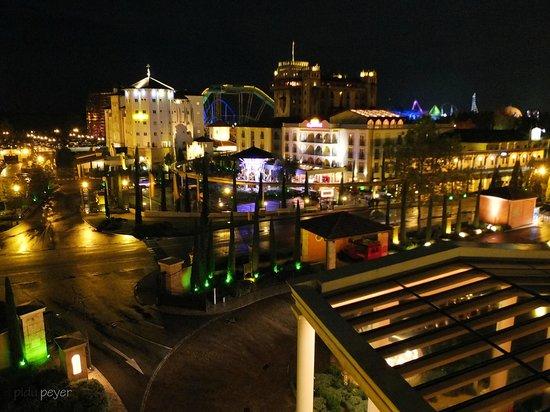 """Hotel """"Colosseo"""" Europa-Park : Aussicht aus dem Zimmer unserer Freunde"""