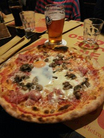 Birreria Barone Rosso: Pizza e birra una delle ottima scelte possibili
