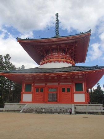 Mount Koyasan : Danjo Garan