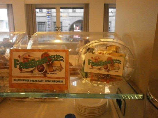 Best Western Hotel City: Colazione per celiaci