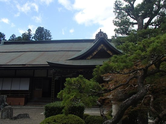 Mount Koyasan : One of the temples that allow guests to stay overnight