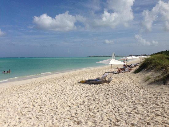 COMO Parrot Cay, Turks and Caicos : The beach