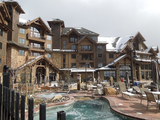 Grand Lodge on Peak 7: Pools, just a step from the door