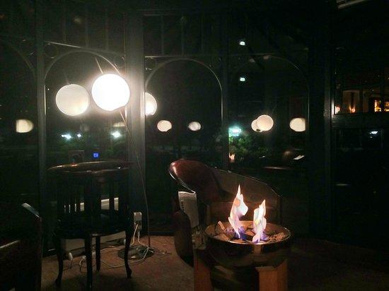 Grand Hotel Binz: Der Raucherpavillon