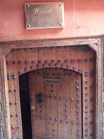 Riad El Youssoufi : Entrance