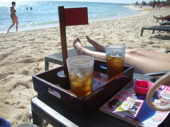 Luxury Bahia Principe Sian Ka'an Don Pablo Collection: Iced teas every morning