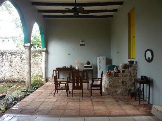 Hotel Tunich Beh: Breakfast Lounge