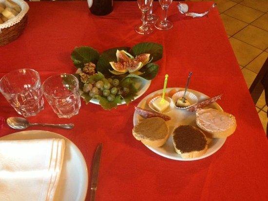 Agriturismo Ca' Solare: Appetizers