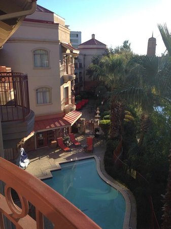 Hotel Indigo San Antonio Riverwalk: View from our River View room