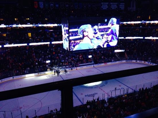 Amalie Arena: Amazing atmosphere inside