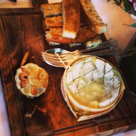 The Spread Eagle Hotel & Spa: Camembert starter