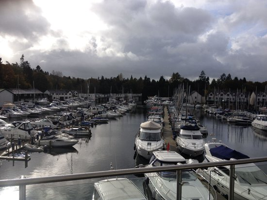 Windermere Marina Village: What a view