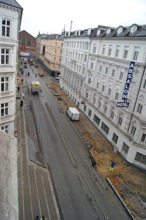 Andersen Boutique Hotel : Vue depuis notre chambre