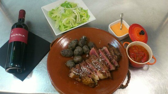 Tomeu restaurante: Presentación de las carnes