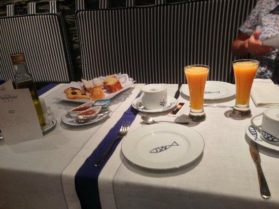 Hotel Pleamar: !!! que desayuno !!!!