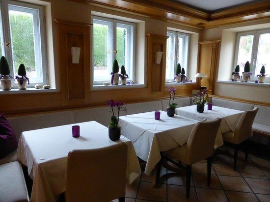 Fischerhaus: the breakfast room