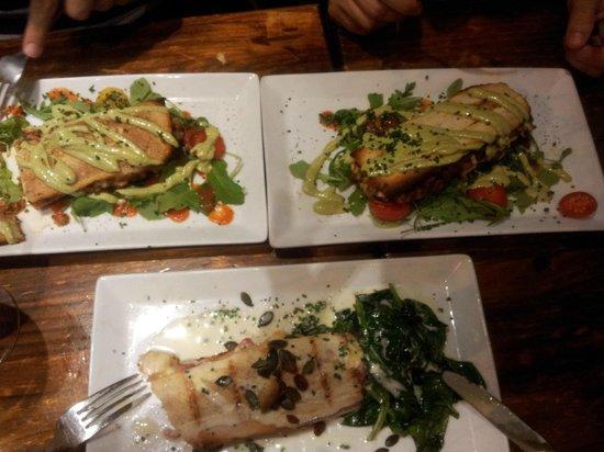 "La Pepita: The delicious ""Pepitas"" we chose!!"
