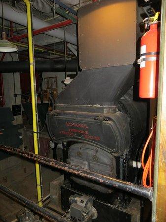 Jerome Grand Hotel: boiler