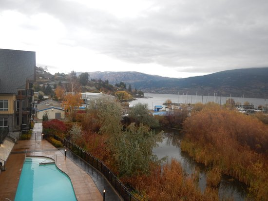Summerland Waterfront Resort & Spa: view from balcony