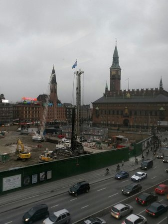 The Square Copenhagen: Utsikten fra rommet