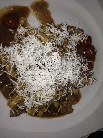 Trattoria Toscana: Fettuccine alla contadina