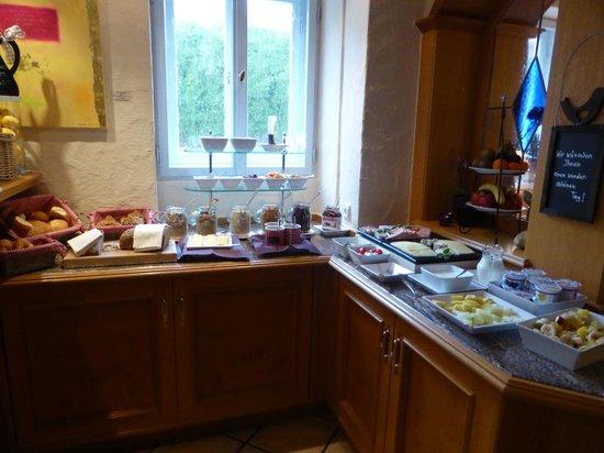 Fischerhaus: Frühstük beautifully set up