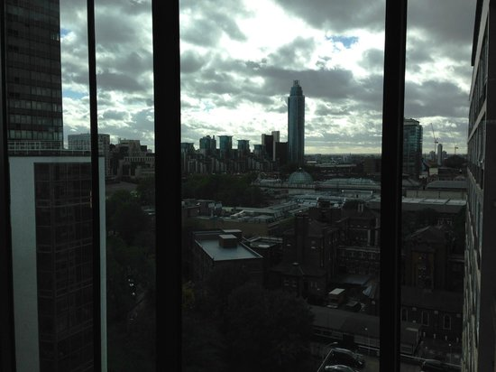 Doubletree by Hilton London - Westminster : Splendid city view