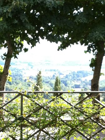 Villa Ugo: a beautiful view