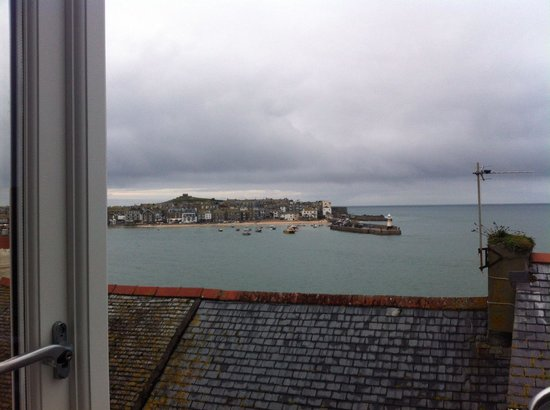 Trevose Harbour House : View from my friend's room