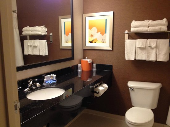 Fairfield Inn & Suites Houston Westchase : Bathroom