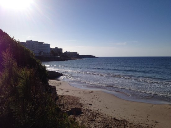 H·TOP Molinos Park : View from beach walk.