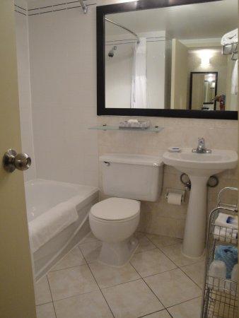 Best Western Plus Montreal Downtown-Hotel Europa : La salle de bain