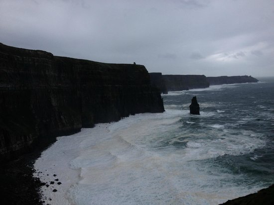 The cliff's of Moher from the Doolin cliff walk