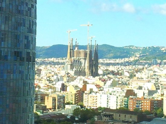 Novotel Barcelona City: Vistas a la Sagrada Familia