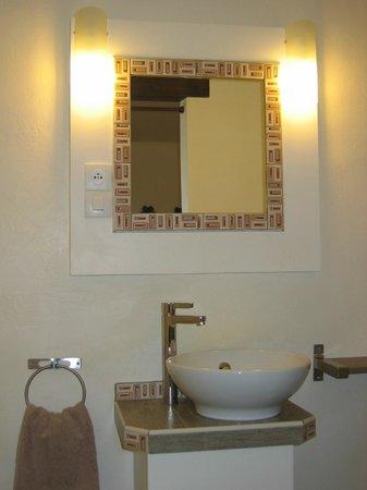Auberge de Trente Pas : Une de nos salles de bain