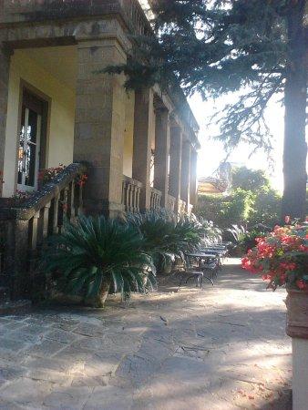 Park Palace Hotel: vista dal giardino